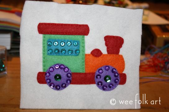 toy train ornament - embellish545wm