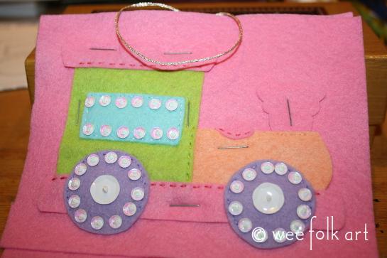 toy train ornament - staple pastel 545wm