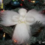 Wool Roving Angels