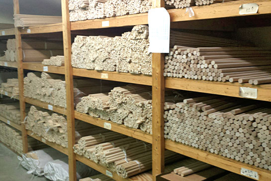 Casey's Wood Product Dowel Rod Shelves