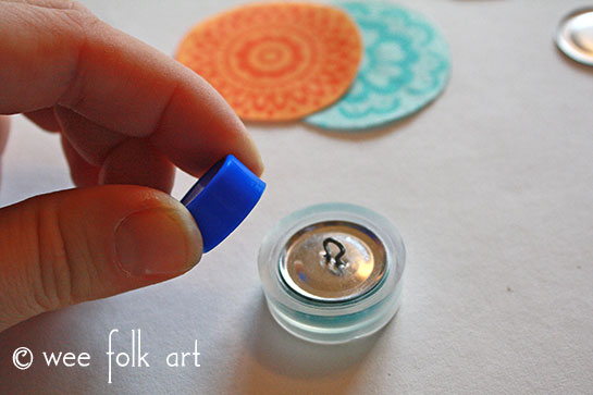 fabric button tutorial backing