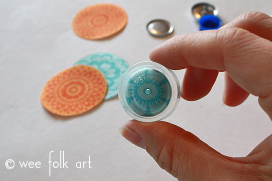 fabric button tutorial center image