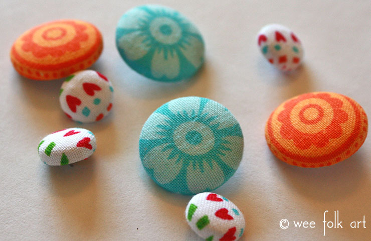 fabric button tutorial featured image