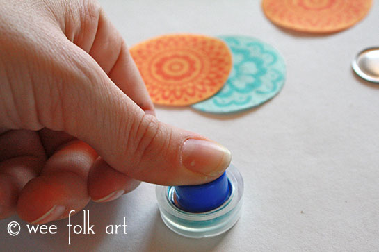 fabric button tutorial push back