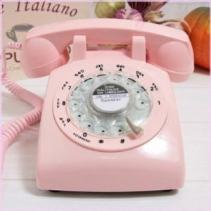powder-pink-retro-phone