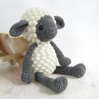 Sheep Knitting Pattern : Sheep Knit and Crochet Patterns - Wee Folk Art
