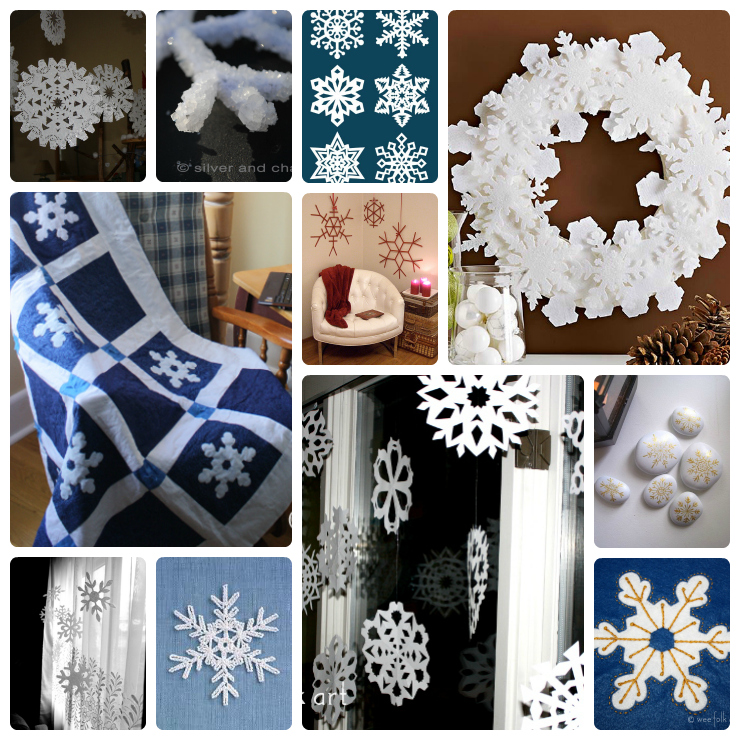 snowflakes Collage