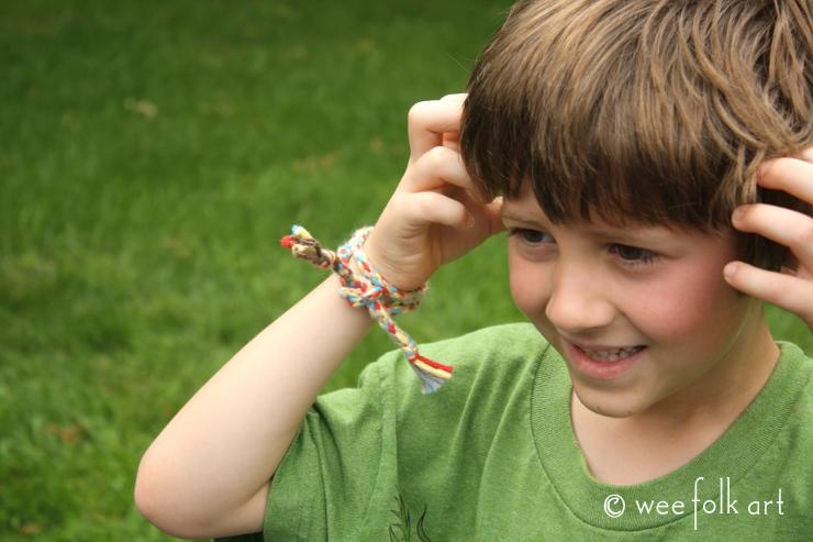 weaving star- bracelet 740wm