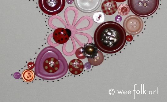 button heart picture tutorial dots 545wm