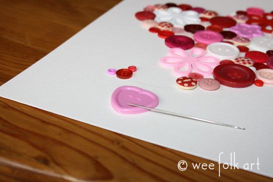 button heart picture tutorial glue 1 545wm
