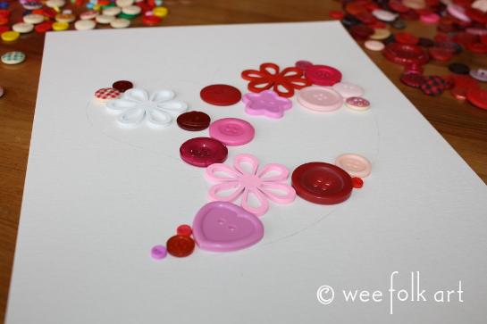 button heart picture tutorial place buttons 1 545wm