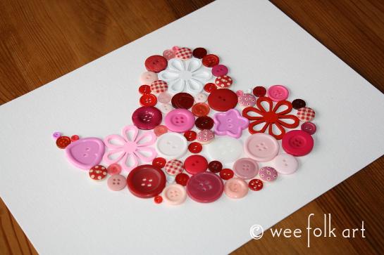 button heart picture tutorial place buttons 2 545wm