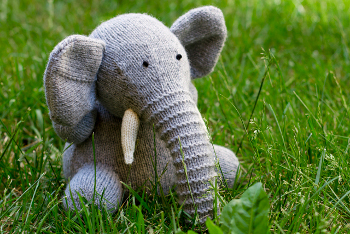Easy Elephant Knitting Pattern : Elephant Patterns for Everyone! - Wee Folk Art