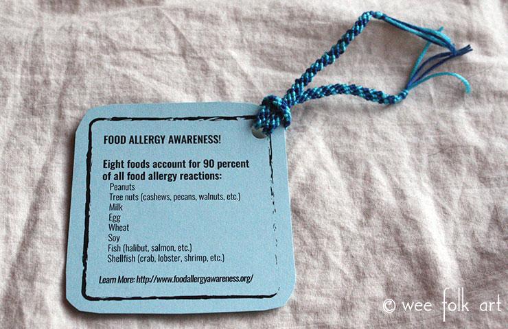food allergy awareness bracelet 1