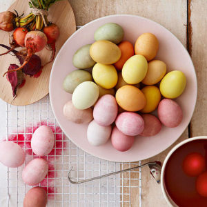 bhg - natural Easter egg dye recipes