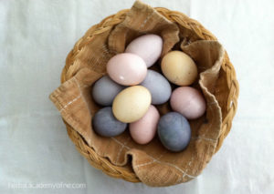 herbal academy - natural Easter egg dye recipes