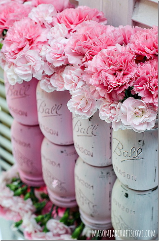 painted mason jars 1