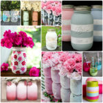 Painted Mason Jars