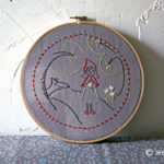 Red Riding Hood Embroidery Pattern