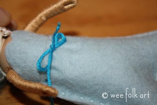 seaside mermaid blue front