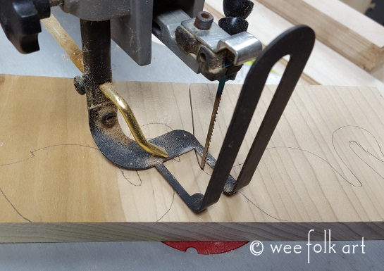 wooden swans 6 545wm