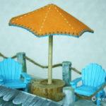 Felt Beach Umbrella