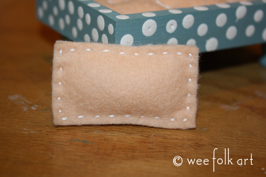 miniature mattress and pillow 12 545wm