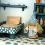 Miniature Mattress and Pillow
