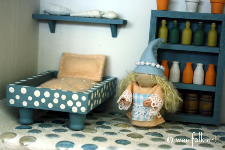 miniature mattress and pillow 14 740wm