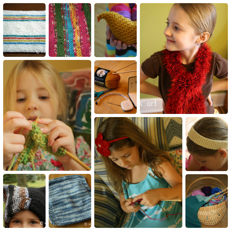 Easy Knit Patterns For Summer Wee Folk Art