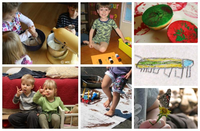Simple Seasons Preschool and Kindergarten Homeschool Curriculum