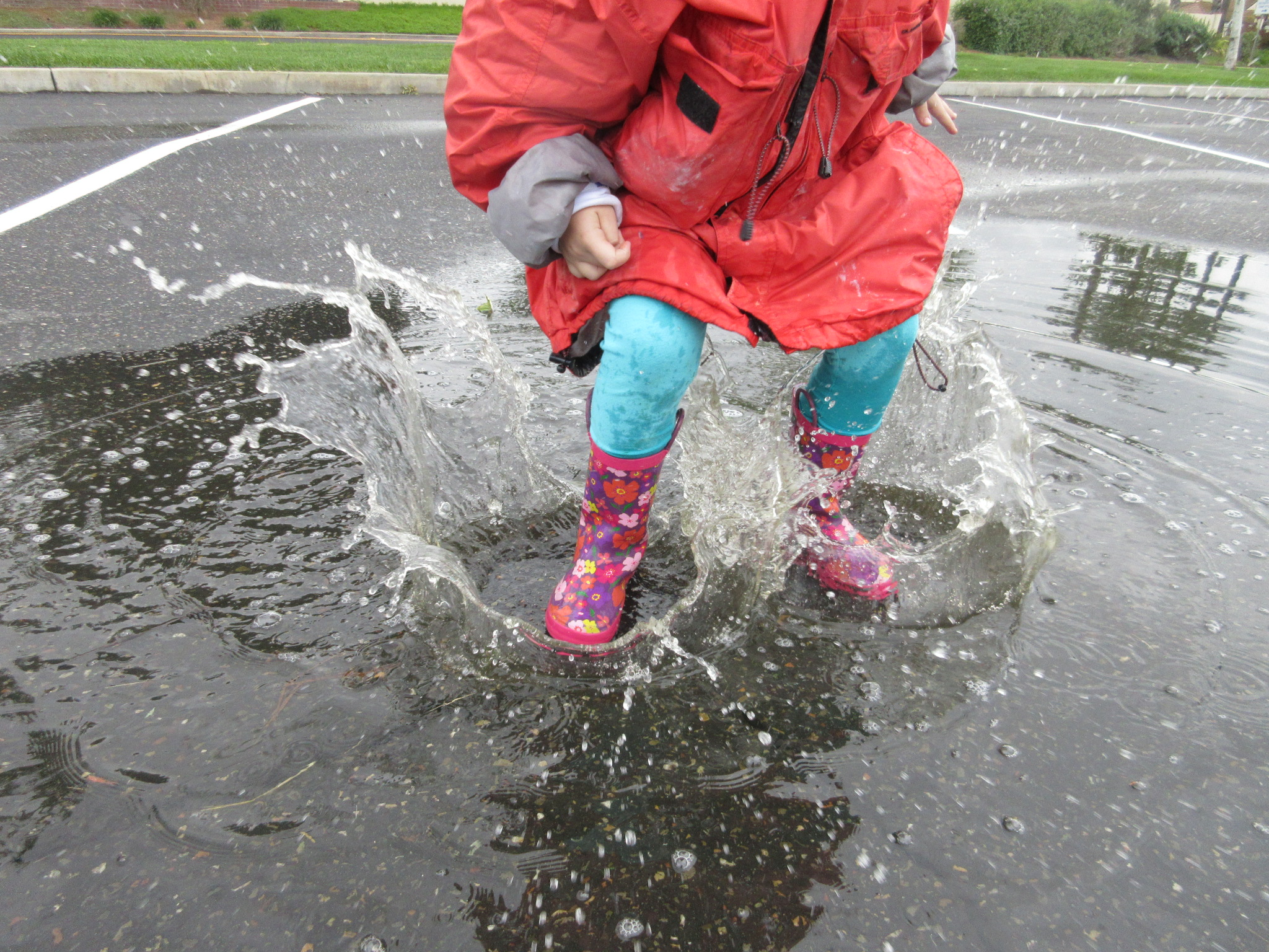 Simple Seasons Puddles & Ponds Jumping in a rain puddle