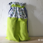 Flannel Drawstring Shoe Bag Pattern