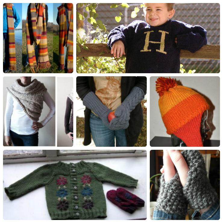 Fantasy Story and Movie Inspired Knitting Patterns - Wee Folk Art
