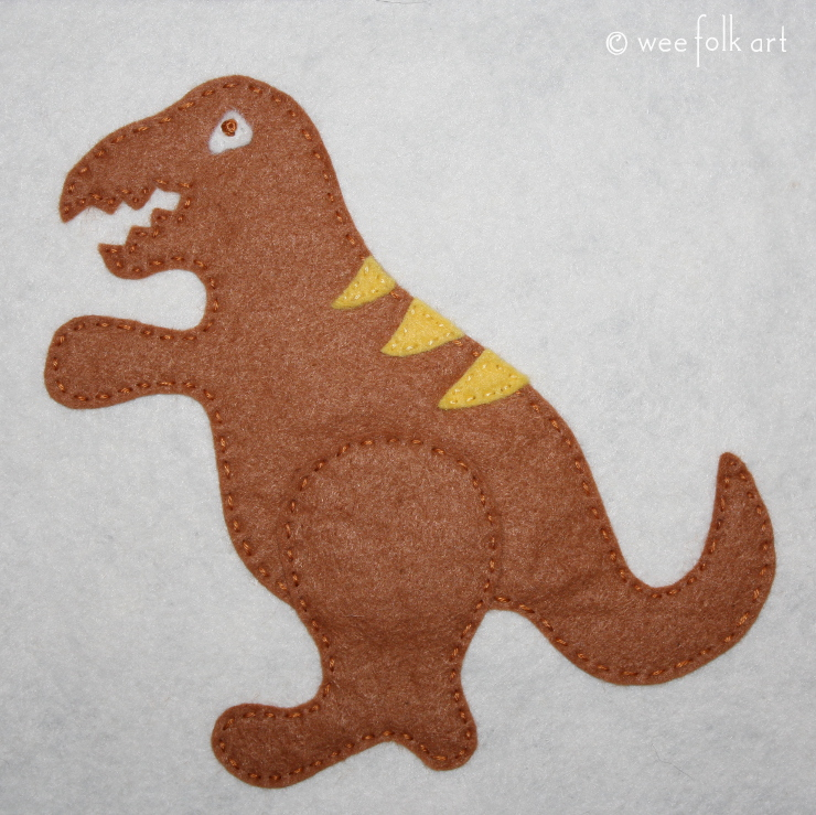 t-rex applique 740wm