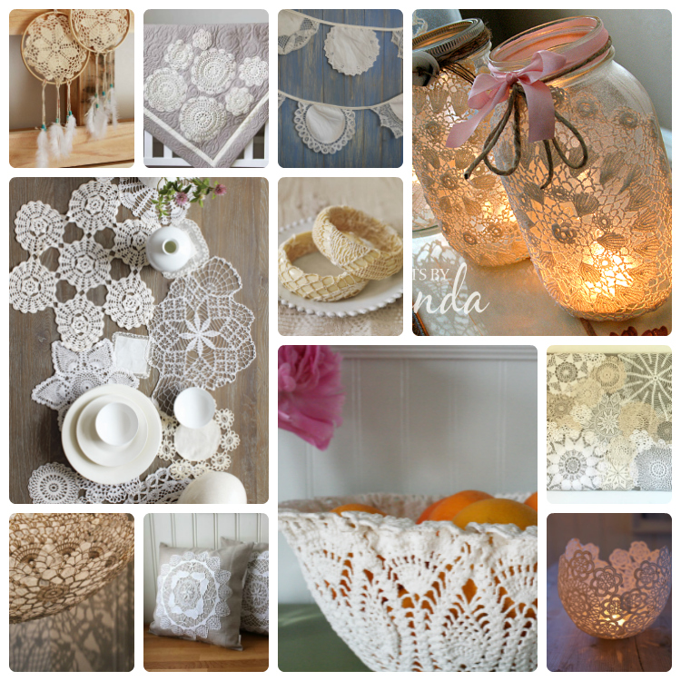 doilies Collage