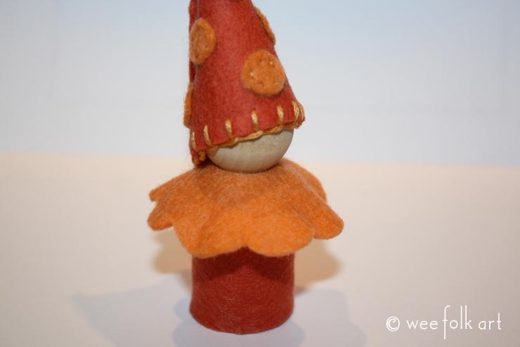 gnome clown costume ruffle