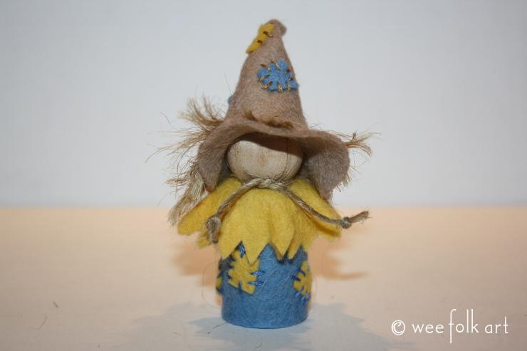gnome scarecrow costume
