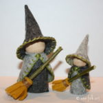 Gnome Witch Costume Pattern for Autumn Celebrations!