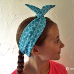 Fashion Fabric Wire Headband Tutorial