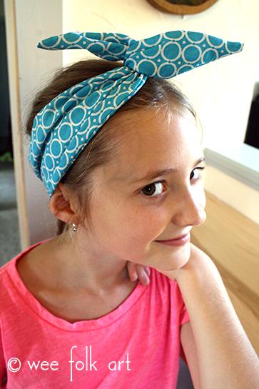 wire hairband pattern