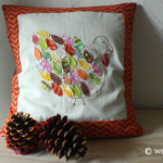 Patchwork Turkey Applique Pattern