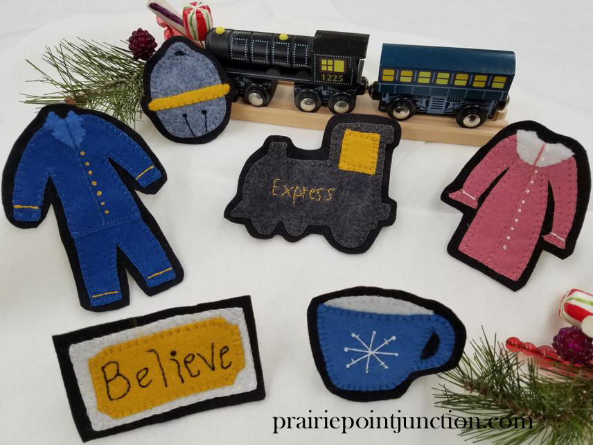 Christmas Express Ornament Collection Wool Felt Patterns