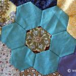 Hand Pieced Hexagon Quilt Tutorial