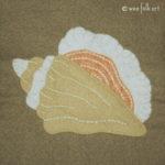 Conch Shell Applique :: Stroll on the Beach Applique Collection