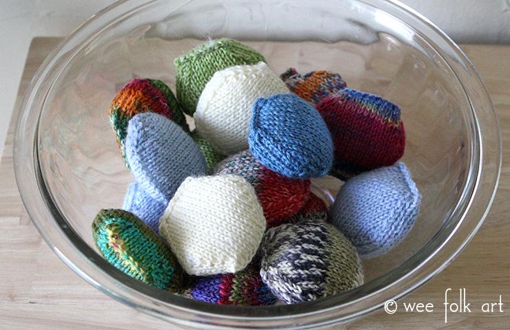 Knit Hexipuffs Bowl