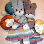 Two Wrongs Make a Right for these Crocheted Bunnies