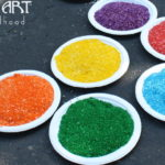 How to Color Rice with Food Coloring