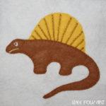Dinosaur Collection :: Dimetrodon Applique