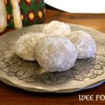 Russian Teacake Recipe :: Snowballs